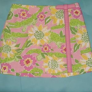 Lilly Pulitzer Alligator Skirt!